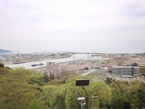 画像:日和山からの眺望