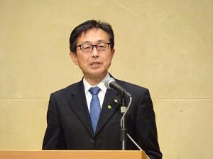 角田道夫県民文化部長のあいさつ 600
