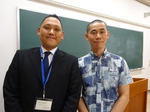 長野大学 理事長と専務理事 600