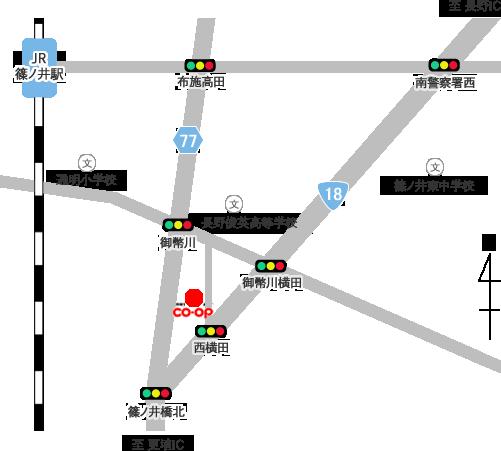 交通アクセス(地図)